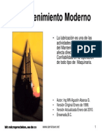 Mantenimiento Moderno 2010