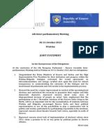 Joint Statement EP Kosovo