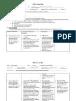 external micro lesson plan web based