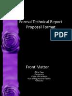 Formal Report
