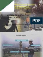 Medida de Angulos y Direcciones