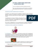 alimentacion nutricion