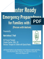 Emergency Preparedness for Families of PWAs 120429
