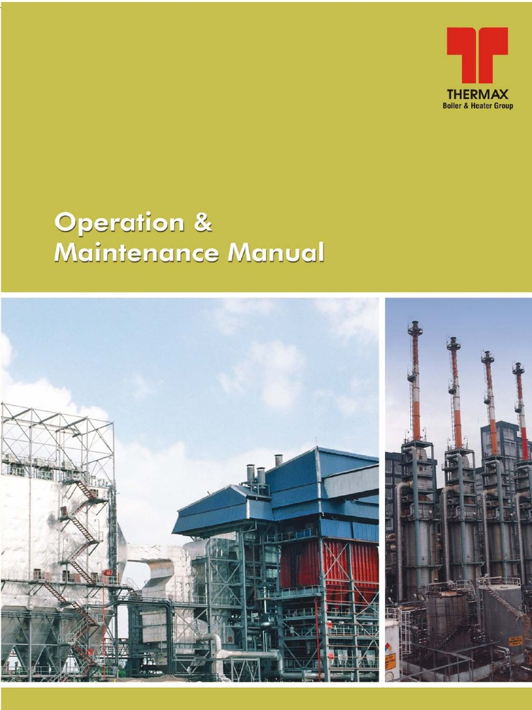 O M Manual For Boiler Furnace Thermax Wiring Diagram