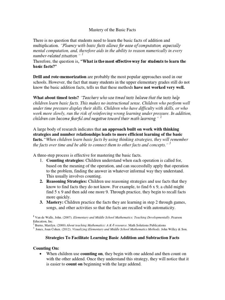 Old Fashioned Basic Facts Math Pattern - Math Worksheets - modopol.com
