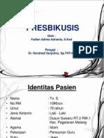 laporan kasus presbikusis ppt