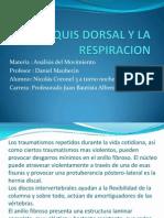 El Raquis Dorsal y La Respiracion