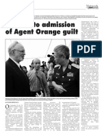 A de-facto Admission of Agent Orange Guilt
