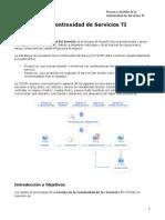 05-Gestión de la Continuidad de Servicios TI