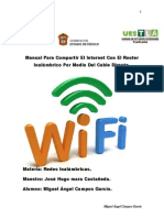 Tutorial Para Compartir Internet Mediante Cable Directo