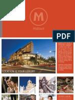 Midblock Midtown Miami condos brochure