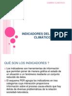 INDICADORES DEL CAMBIO CLIMÁTICO expo (1)