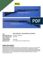 The Ballard Rifle