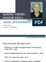 Nursing Theory- King