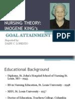Nursing Theory- King
