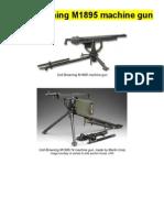 Colt Browning M1895 Machine Gun