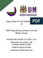Proposal Format - USM EC Urumee Melam