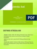 Atresia Ani