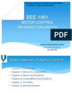 Motor Control Safety