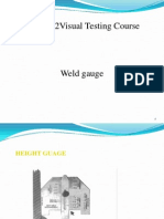 Welding Guage & Defects