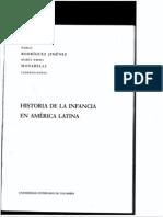 Historia de La Infancia en America Latina (Introduccion)