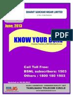 Bsnl Know Your Customer Handbook