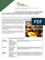 Tudoparavegetarianos.com.Br-Protena Vegetal x Protena Animal Entenda as Conseqncias Do Consumo e Faa a Sua Escolha Por Juliana C