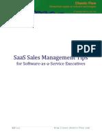 Saas Sales Management Tips