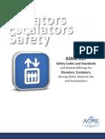 Elevators Escalators Safety