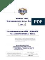 Fundamentos de Responsabilidad Social Empresarial