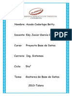 Gestores de Base de Datos_acedo Codarlupo Betty