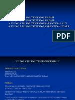 Kuliah Undang-undang Wabah Dan Karantina Hd