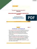 SBEC3622-OCW 14 Safety Culture