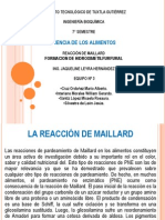 1. Reaccion Maillard