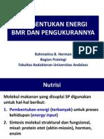 Kuliah 2. Pembentukan Energi, BMR Dan Pengukurannya