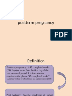 Prolonged Pregnancy