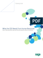 What the CEO Needs From HR Planning Guide