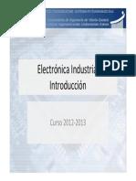 Electrónica Industrial-Introduccion