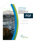 Vancouver Park Board Budget - Proposed 2014
