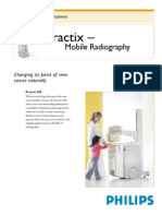 Practix - Mobile Radiography - Practix 300 Specifications