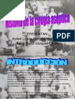 Historia de Las Tecnicas Asepticas en Cirugia 2