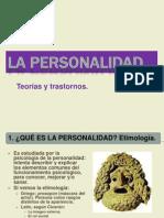 Tema La Personalidad-teorias y Trastornos