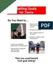 Goal Setting for Teens