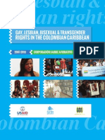 Gay, Lesbian, Bisexual & Transgender Rights in the Colombian Caribbean