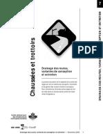 Road Drainage Design Alternatives and Maintenance FR
