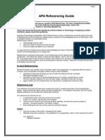 2b Pgsr APA Reference Guide