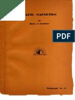 Radio Magnetism - Harry J. Gardner
