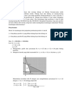 Latihan Soal Program Linear