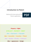 Introduction to Patent