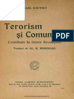 Karl Kautsky Terorism şi Comunism